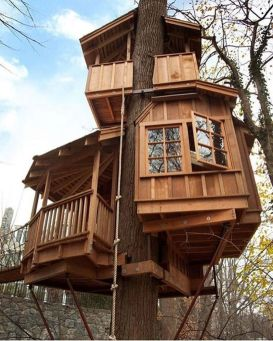 Awesome Treehouse Masters Design Ideas 86