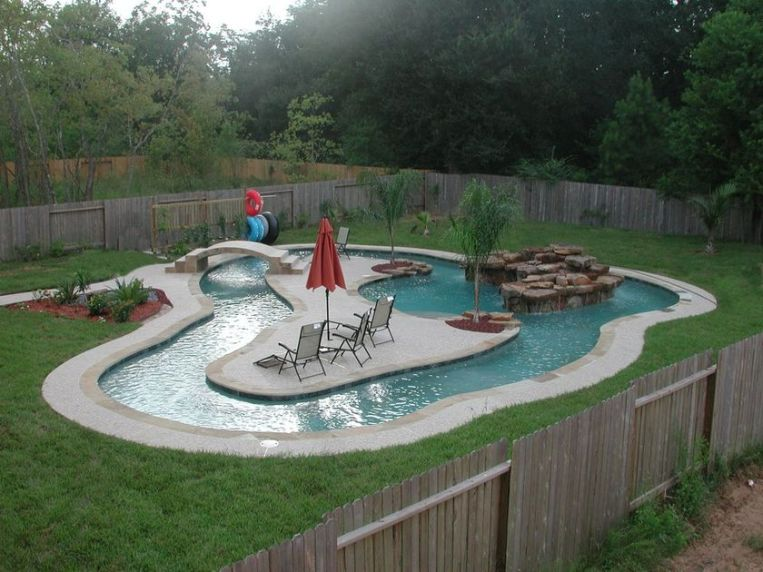 Lazy River Pool On Home Ideas 33