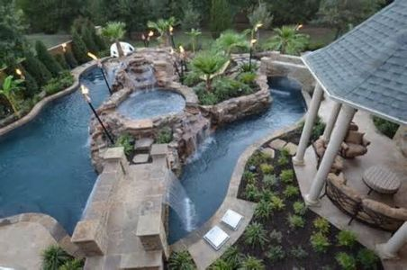 Lazy River Pool On Home Ideas 36