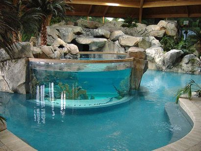 Lazy River Pool On Home Ideas 43