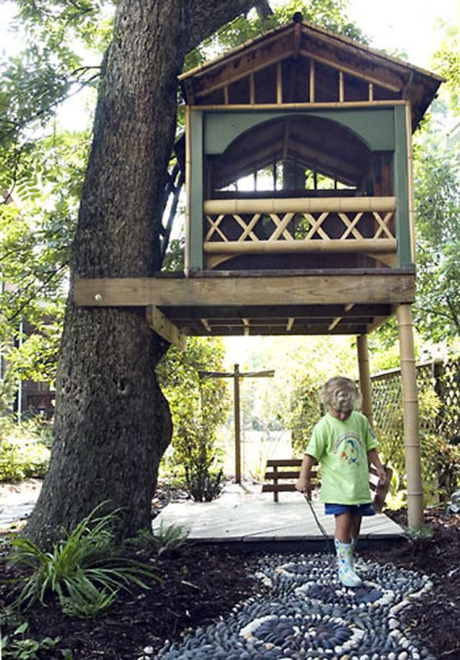 Simple Diy Treehouse For Kids Play 52