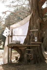 Simple Diy Treehouse For Kids Play 63