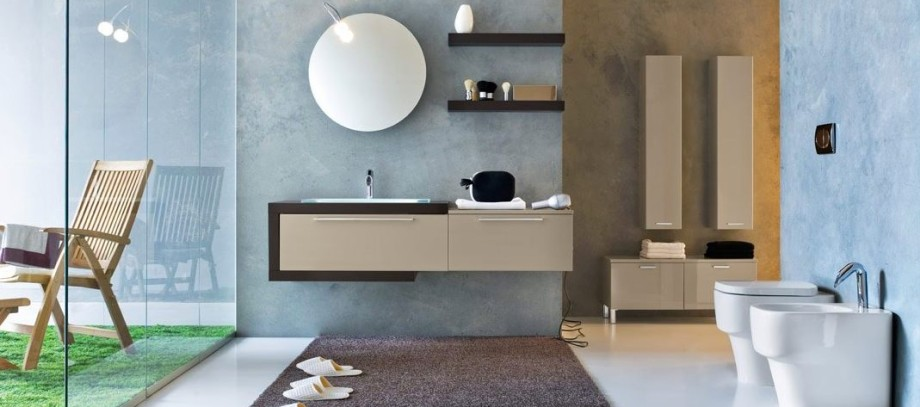 Modern Contemporary Bathroom Featured