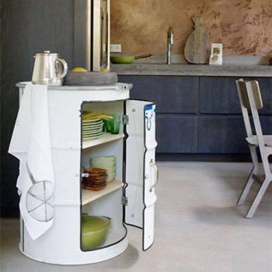 Amazing Creative Recycle Barrels Ideas For Your Home 22