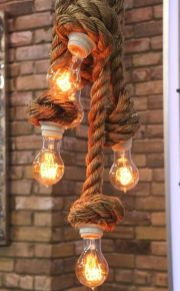 Amazing Rustic Hanging Bulb Lighting Ideas 27