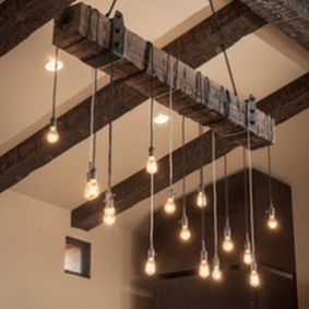 Amazing Rustic Hanging Bulb Lighting Ideas 31