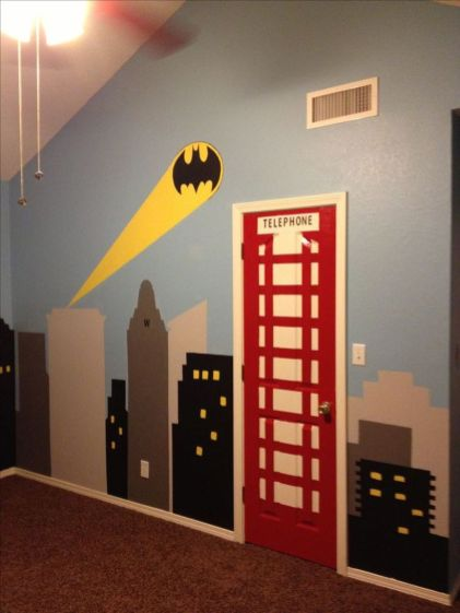 Awesome Superhero Themed Room Design Ideas 19