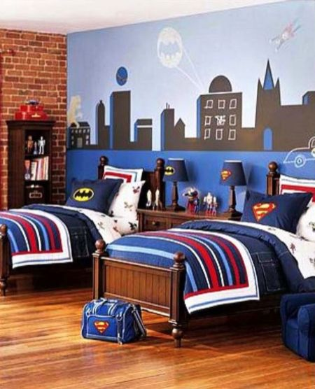Awesome Superhero Themed Room Design Ideas 39