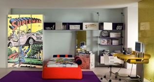 Awesome Superhero Themed Room Design Ideas 52