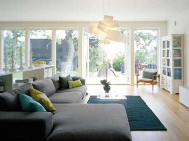 Cool Family Friendly Living Rooms Design Ideas 24