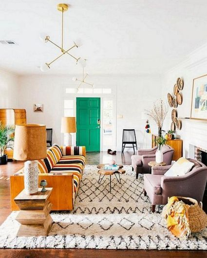 Cool Family Friendly Living Rooms Design Ideas 28