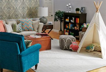 Cool Family Friendly Living Rooms Design Ideas 29