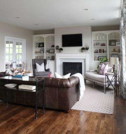 Cool Family Friendly Living Rooms Design Ideas 6