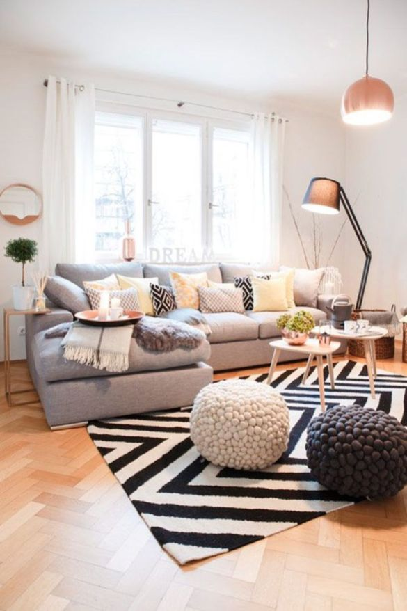 Cool Family Friendly Living Rooms Design Ideas 9