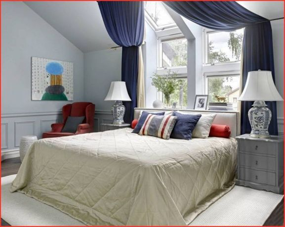 Cozy And Cool Bedroom Curtain Decoration Ideas 17