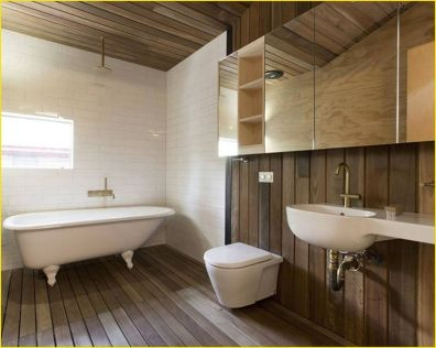Cozy Wooden Bathroom Designs Ideas 2