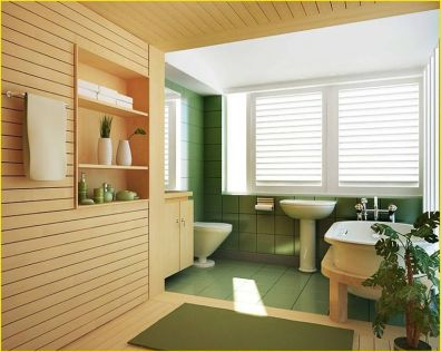 Cozy Wooden Bathroom Designs Ideas 8