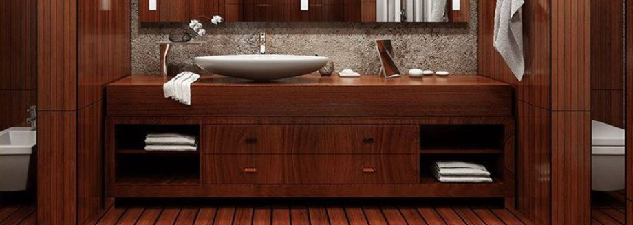 Cozy Wooden Bathroom Designs Ideas Featured