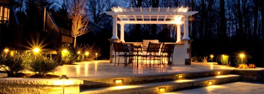 Rustic Garden Landscape Lighting Ideas Featured