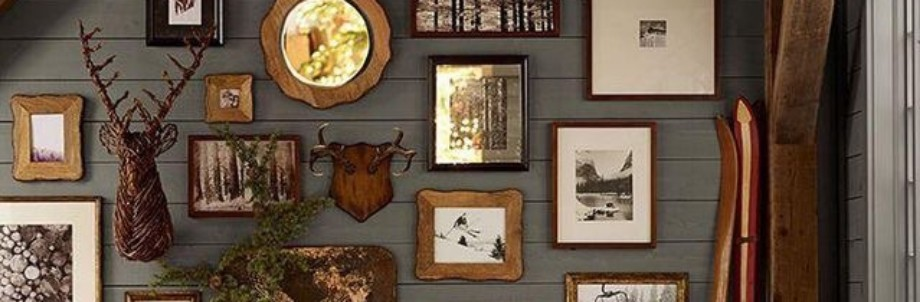 Rustic Home Wall Galleries Ideas Featured