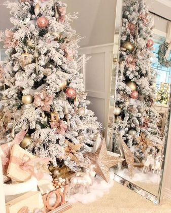 Gorgeous Chirstmas Tree Decorations Ideas 2019 35