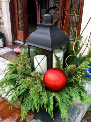Amazing Christmas Porch Ornament And Decorations 93