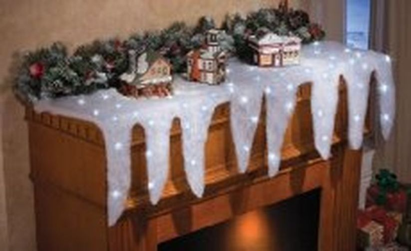 Creative Fake Snow Ideas For Chirstmas Decorations 14
