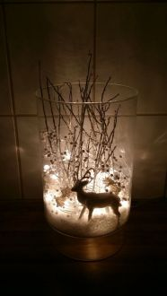 Creative Fake Snow Ideas For Chirstmas Decorations 19