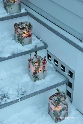 Creative Fake Snow Ideas For Chirstmas Decorations 39