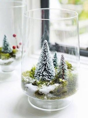 Creative Fake Snow Ideas For Chirstmas Decorations 40