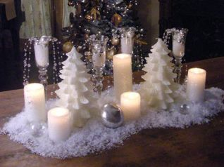 Creative Fake Snow Ideas For Chirstmas Decorations 69