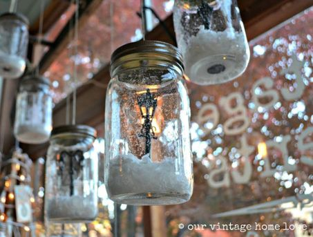 Creative Fake Snow Ideas For Chirstmas Decorations 74