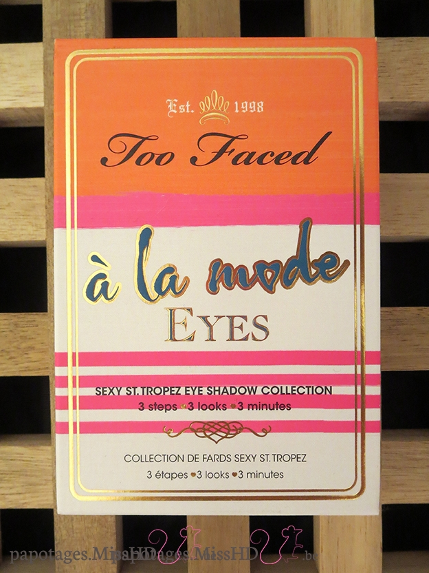 A la mode de Too Faced.