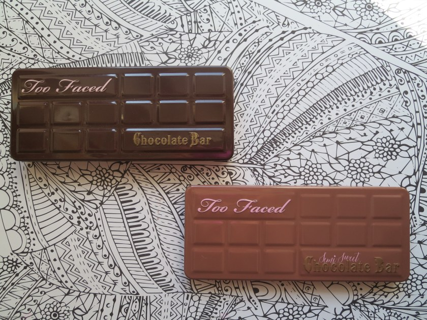 Comparaison des deux versions de la Chocolate Bar.