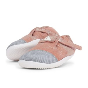 Bobux Greece Step up (Νο:18-22)  Xplorer Arctic Pink Sparkle – Merino Lined