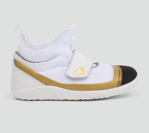 Kid+ (Νο:27-33) Hi Dimension Hi Top White & Gold