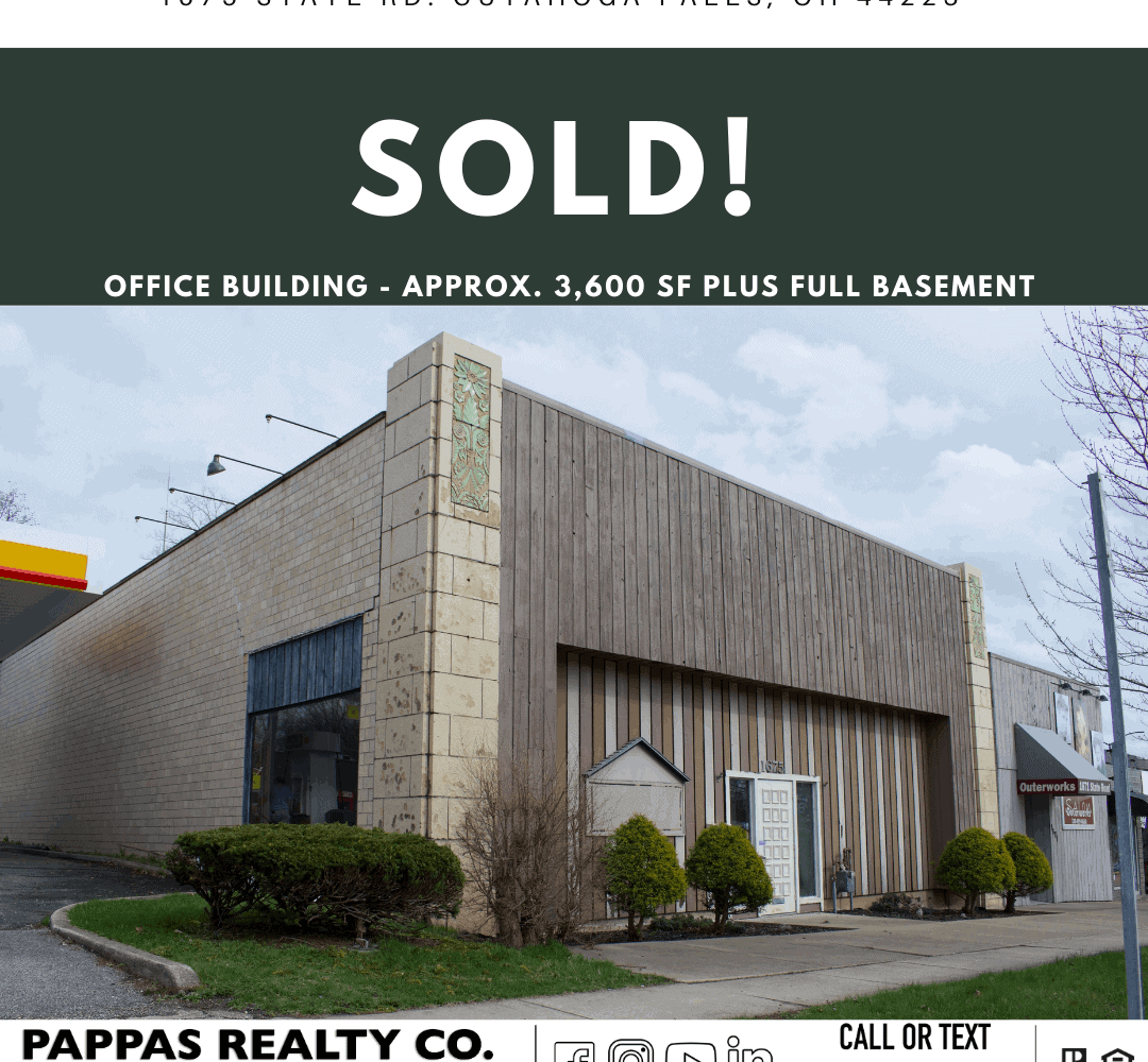 Pappas Realty Co. Sells Commercial Real Estate in Cuyahoga Falls, Ohio