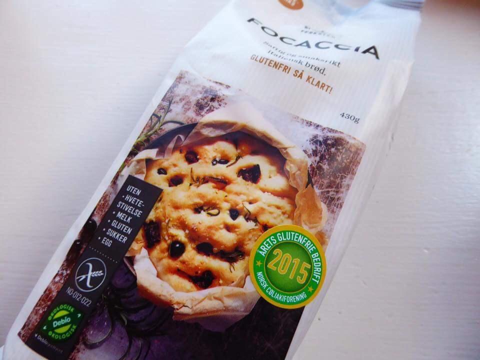 Focaccia fra Det glutenfrie verksted