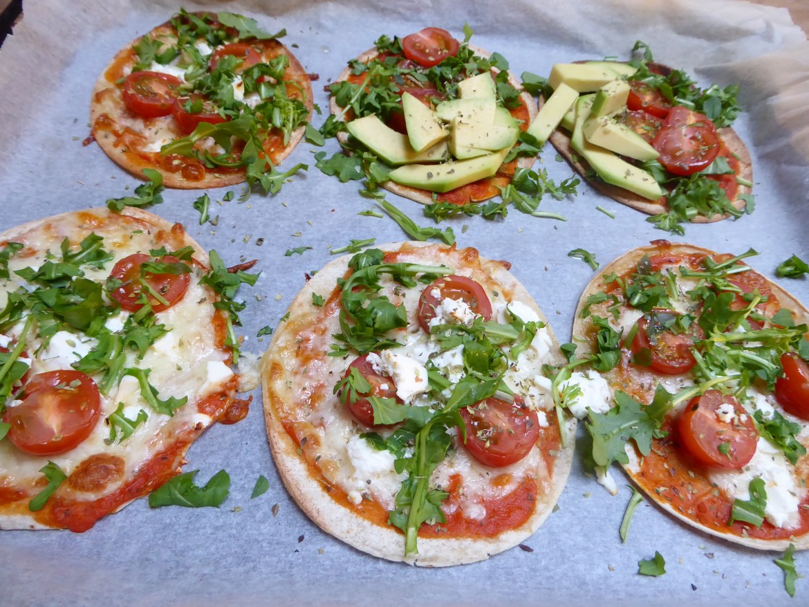 glutenfri mini-pizza