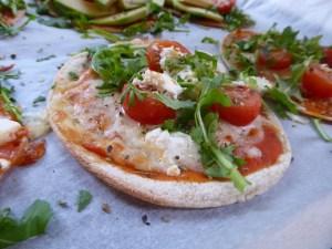 Verdens enkleste glutenfrie mini-pizza