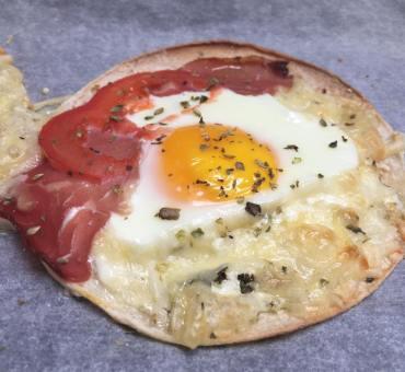 Start søndagen med en deilig frokost-pizza