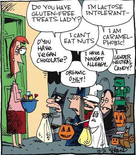 En trygg glutenfri Halloween