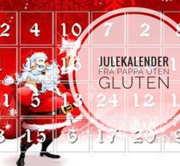 Bli med på vår julekalender! Årets julegave får du fra Pappa uten gluten.