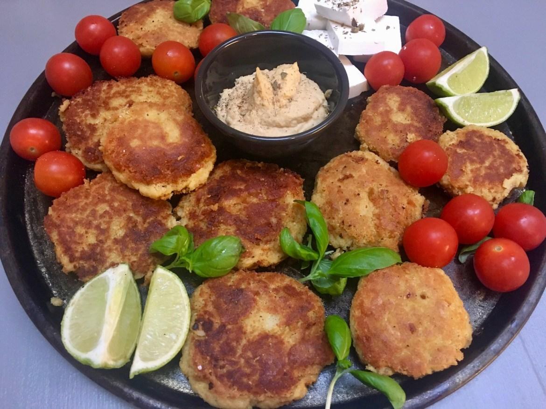 glutenfrie kikertboller med dill og sitron
