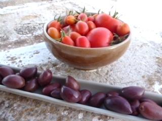 tomater og oliven er en uslåelig kombinasjon