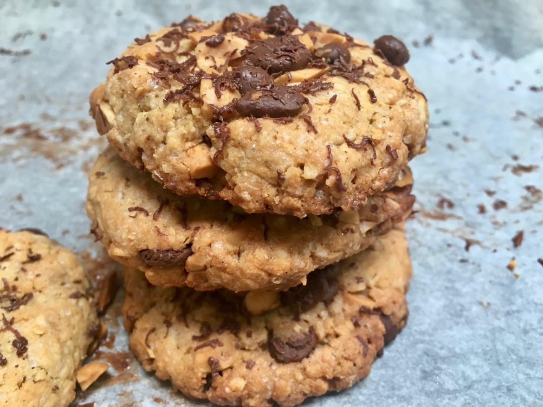 Glutenfrie sjokolade /peanuttsmørkjeks