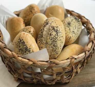 Glutenfrie rundstykker med fiber og havre