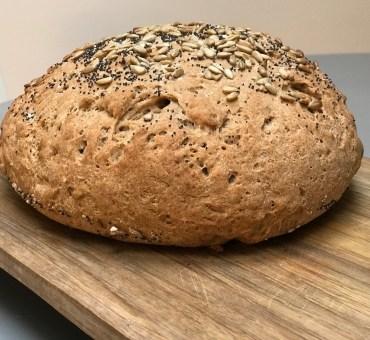 Glutenfritt grovbrød med surmelk