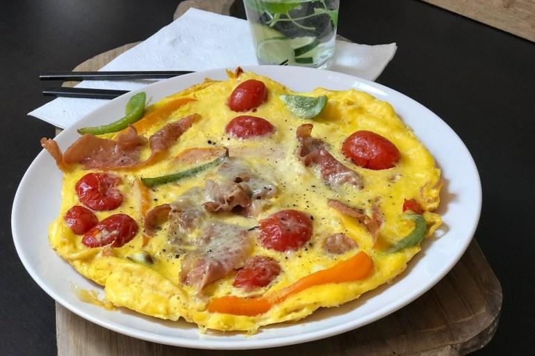 Omelett #middagpå15minutter