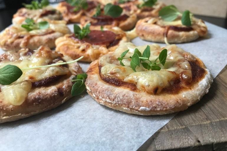 Glutenfri porsjons pizza
